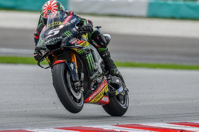 画像: 3位でゴールしたJ.ザルコ(ヤマハ)。来シーズンKTMに移籍する彼は、次戦バレンシアGPがヤマハYZR-M1の最後の乗車になります。 race.yamaha-motor.co.jp