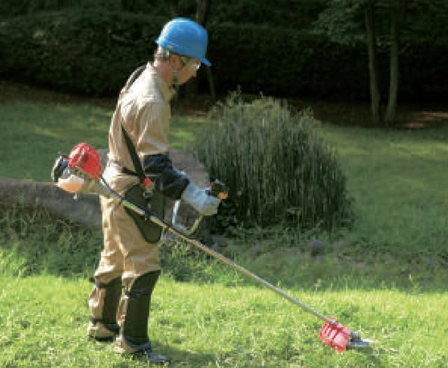 画像: こういうやつ。草を刈る機械ですね www.honda.co.jp