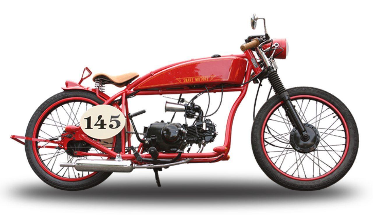 画像: 【ロレンス女子部ライダーへの道】Saori編:所さんが生んだ「SnakeMotors」の可愛すぎるバイクを見て奮起する! - LAWRENCE - Motorcycle x Cars + α = Your Life.