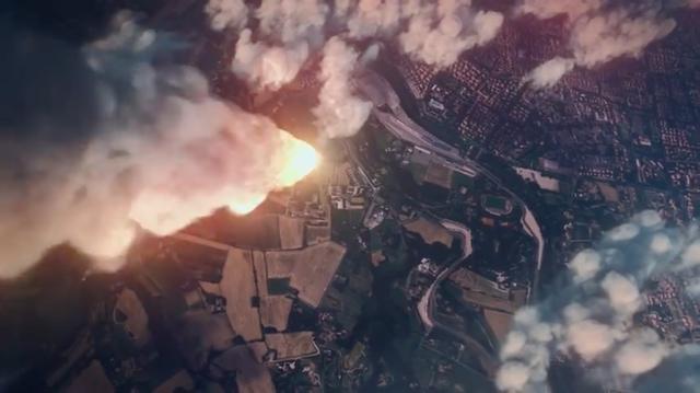 画像: なんと宇宙から地球・・・イモラサーキットめがけて隕石らしき物体が! www.youtube.com