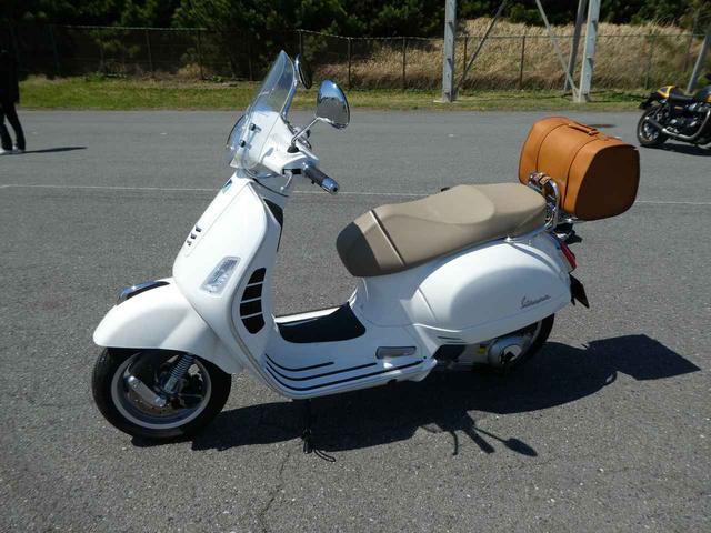 画像: 先川知香的インプレッション【Vespa GTS 250】に乗ってみた。 - LAWRENCE - Motorcycle x Cars + α = Your Life.