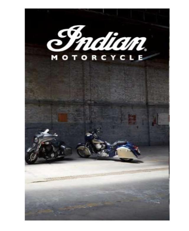画像1: 11月30日まで!INDIAN MOTORCYCLE が体感出来るのは今! INDIAN 2019 モデル 店頭デビューフェア開催中。