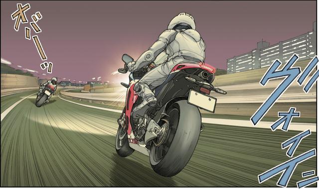 画像4: 待ち合わせ場所でオンナと共にテツヤを待っていたバイクとは??
