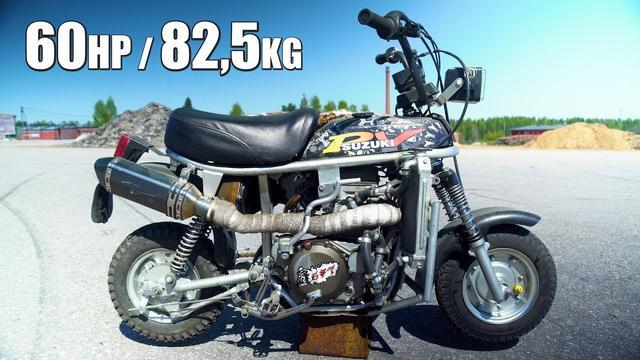 画像: SUZUKI PV 60hp 82kg 450cc youtu.be