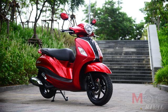 画像: こちらがタイ市場向けのヤマハ グランド フィラーノ ハイブリッドです。 www.yamaha-motor.co.th