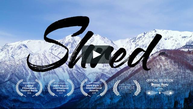 """画像1: SnowboardMovie""""Shred""""Trailer vimeo.com"""