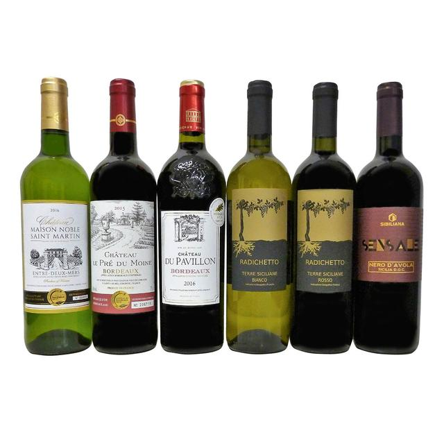 画像: 新春福袋 二大大国フランス・イタリア赤白ワイン6本セット|商品詳細|高島屋オンラインストア