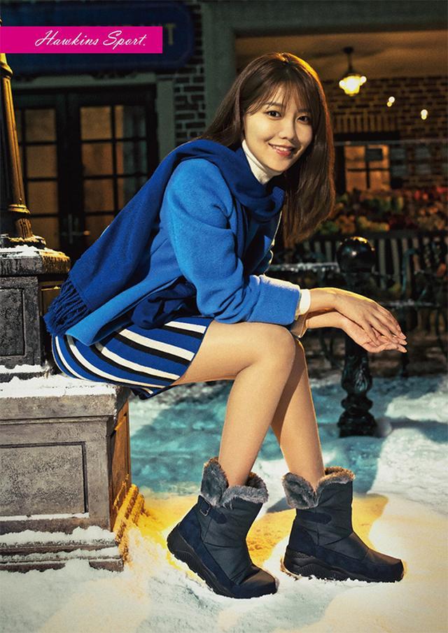 画像: スヨンさん出演 ABC-MART新TV-CM『SNOW BOOTS COLLECTION』|プレスリリース | ABC-MART 【公式通販】