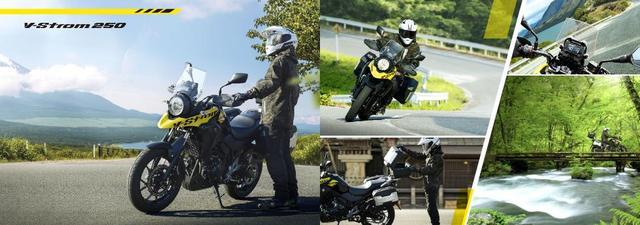 画像: SUZUKI Vストローム250 ABS / Vストローム250