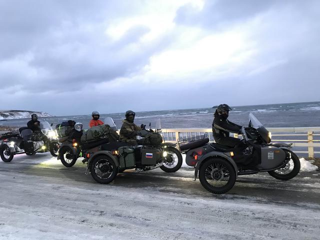画像: ついに、宗谷岬に到着! 小樽フェリーターミナルから2日間・約380kmの旅路でした。