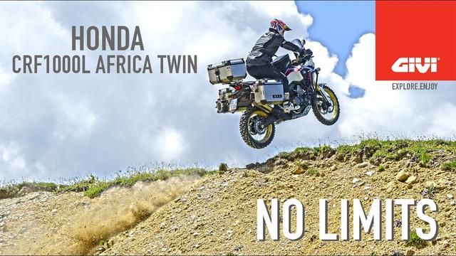 画像: Honda AFRICA TWIN. NO LIMITS with GIVI youtu.be
