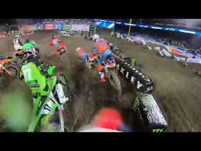 画像: GoPro: 2019 Monster Energy Supercross from Anaheim 1 youtu.be