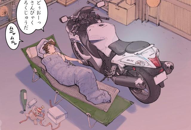 画像: 聖夜に舞い降りたのは天使ではなくハヤブサ〜こんな夜にお前に乗れないなんて〜「Falcons Flight」@『RIDE 19』 - LAWRENCE - Motorcycle x Cars + α = Your Life.