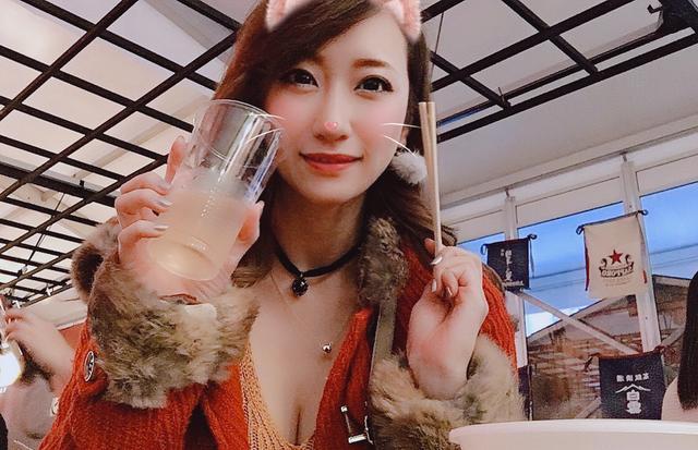 画像: あ、もちろんお酒は飲んでます☆(これは梅酒ソーダ割りかな)