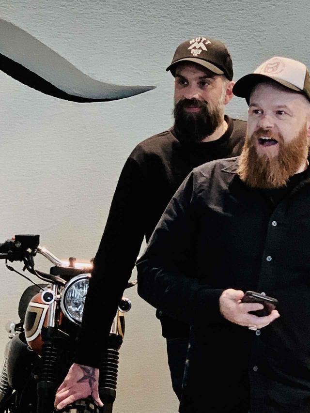 画像1: MUTT MOTORCYCLES has come! 英国バーミンガムからクールで、取り回しが楽で、レトロな街乗りバイクの新ブランド「MUTTモーターサイクル」が上陸