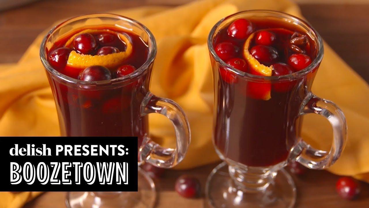 画像: 4 Cocktails To Warm You Up When It's Freezing   Boozetown   Delish   Ep 9 www.youtube.com