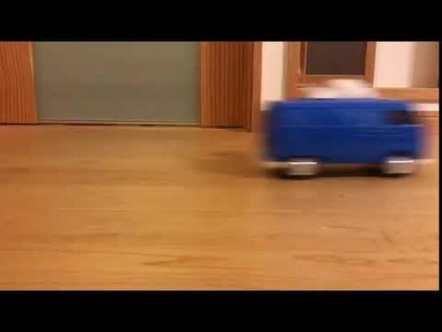 画像: VWティッシュケース映像2 www.youtube.com