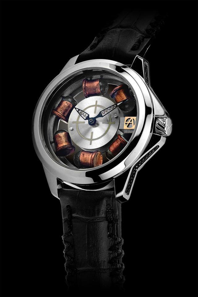 画像: 高級時計と銃器が合体?! アーティア新モデルが超クール