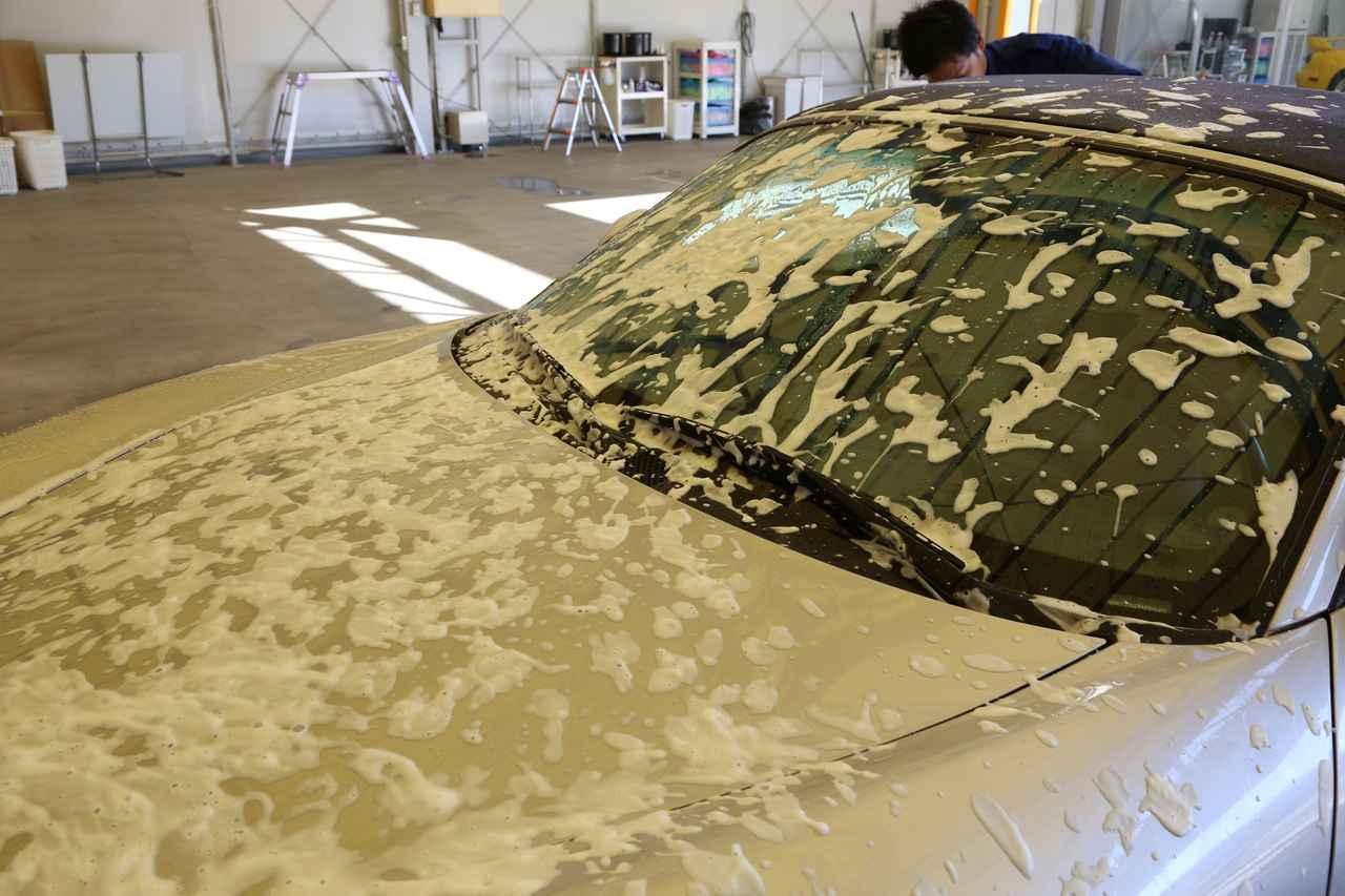 画像4: まずは洗車タイム