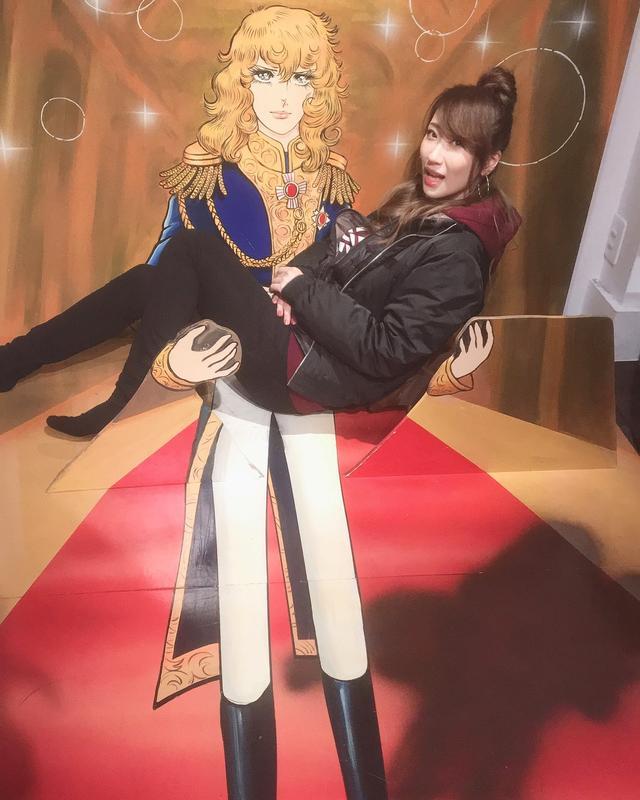 画像: お姫様だっこ!!!笑 オスカル足なげええええ
