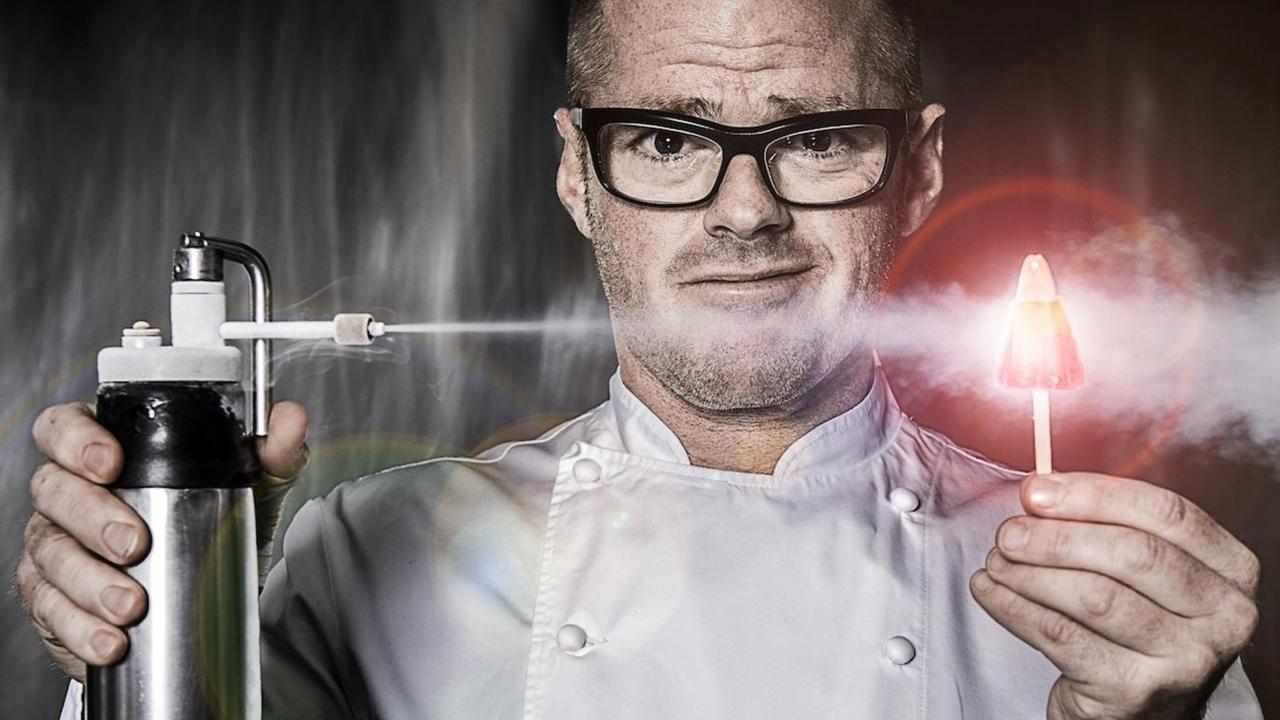 画像: ヘストン・ブルメンタールさん。彼のレストラン「Dinner by Heston Blumenthal」もまたミシュランで星を獲得しています。こちらの写真はロンドン版Time outでの彼のインタビュー記事から拝借しましたが、クセよ。ご興味ある方はぜひ下記リンクからどうぞ(英語です) www.dinnerbyheston.com.au