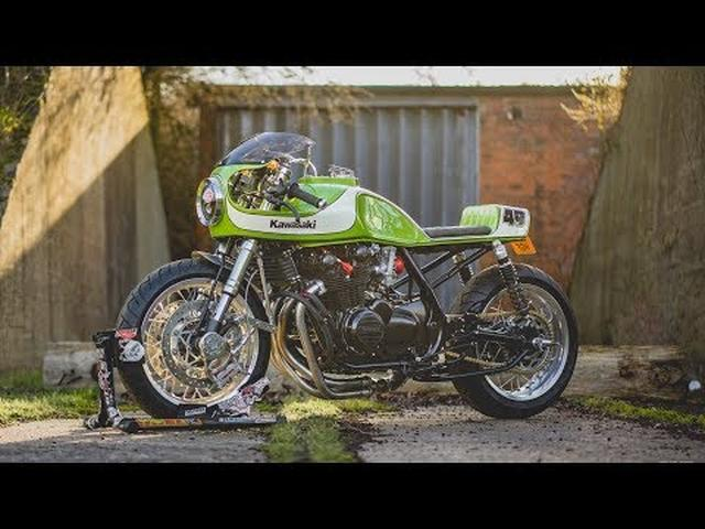 画像: Kawasaki Zephyr 750 Cafe Racer by November Customs youtu.be