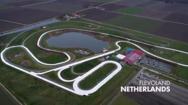 画像: 舞台となるのは、オランダのフレヴォラント州のコースです・・・。 www.youtube.com