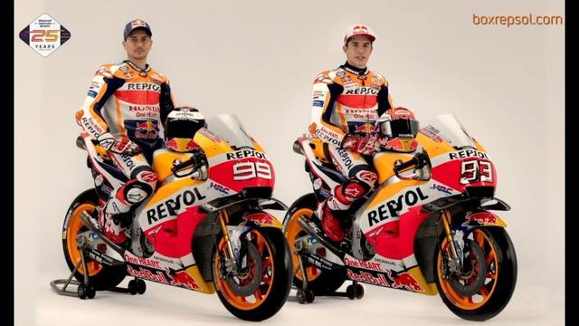 画像: Marc Márquez & Jorge Lorenzo. 'Making of' photoshoot youtu.be