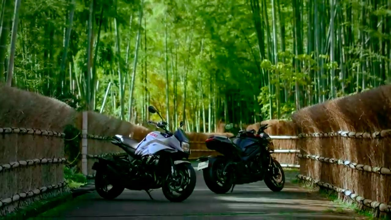 画像: この絵のロケ地は・・・京都といえば各メディアでやたら使われるアソコっぽいです。 www.youtube.com