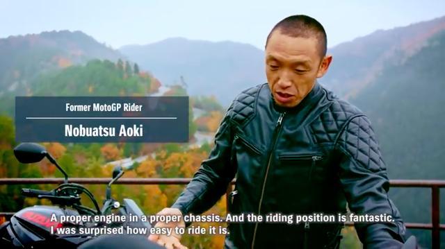 画像: 新型KATANAを評価するのは、元MotoGPライダーで現在はスズキの開発に関与する青木宣篤です! www.youtube.com