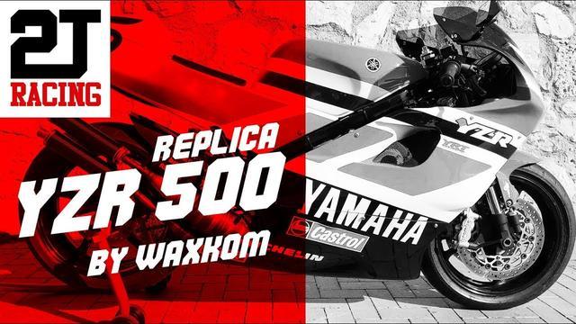 画像: Yamaha RD500LC - YZR500 Replica · WAXKOM youtu.be