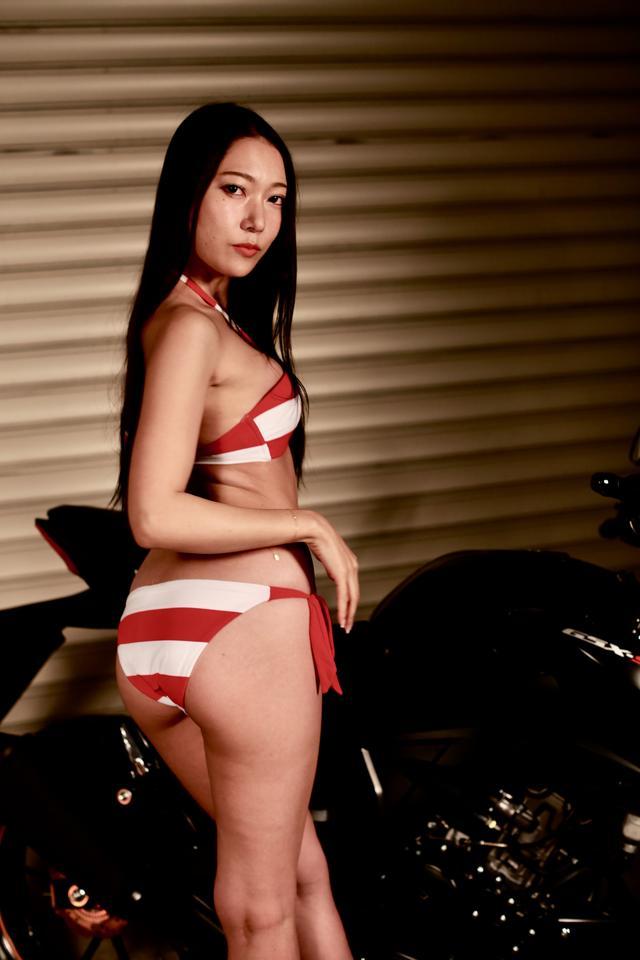 画像1: 【Beauty & Bike】羽衣とGSX-S125 vol.09