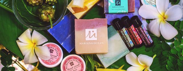 画像: ハンドメイドソープ、刻印サービスのマリアナオーシャン