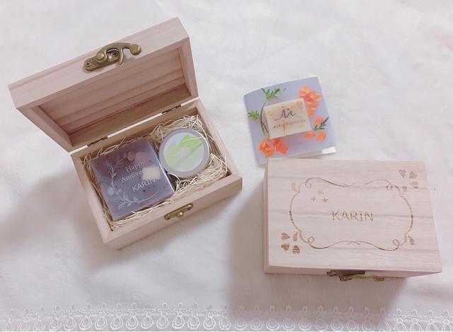 画像: 刻印石鹸×ハンドクリームセット 3,780円(税込)