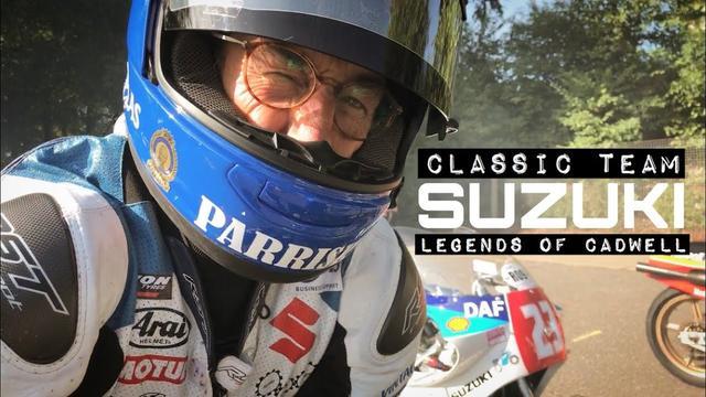 画像: Team Classic Suzuki - Legends of Cadwell Park youtu.be