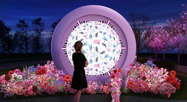 画像2: この春連れて行って欲しいお花見スポット♡ 六本木ミッドタウンの「CHANDON Blossom Lounge」