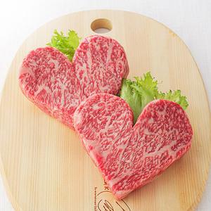 画像: 国産黒毛和牛ハートステーキ(ロース) 6,912円(税込) www.takashimaya.co.jp