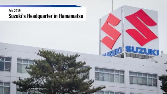画像: 舞台はスズキ本社のある静岡県浜松市。1991年4月まで、ここの住所が「可美村」だったことをご存知の方は、おそらく地元の方か、重症の鈴菌患者さんでしょう(笑)。 www.youtube.com