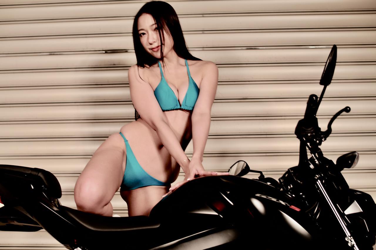 画像3: 【Beauty & Bike】羽衣とGSX-S125 vol.15
