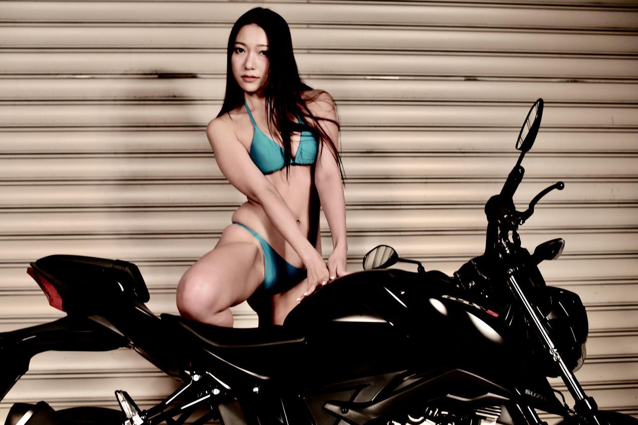 画像2: 【Beauty & Bike】羽衣とGSX-S125 vol.15