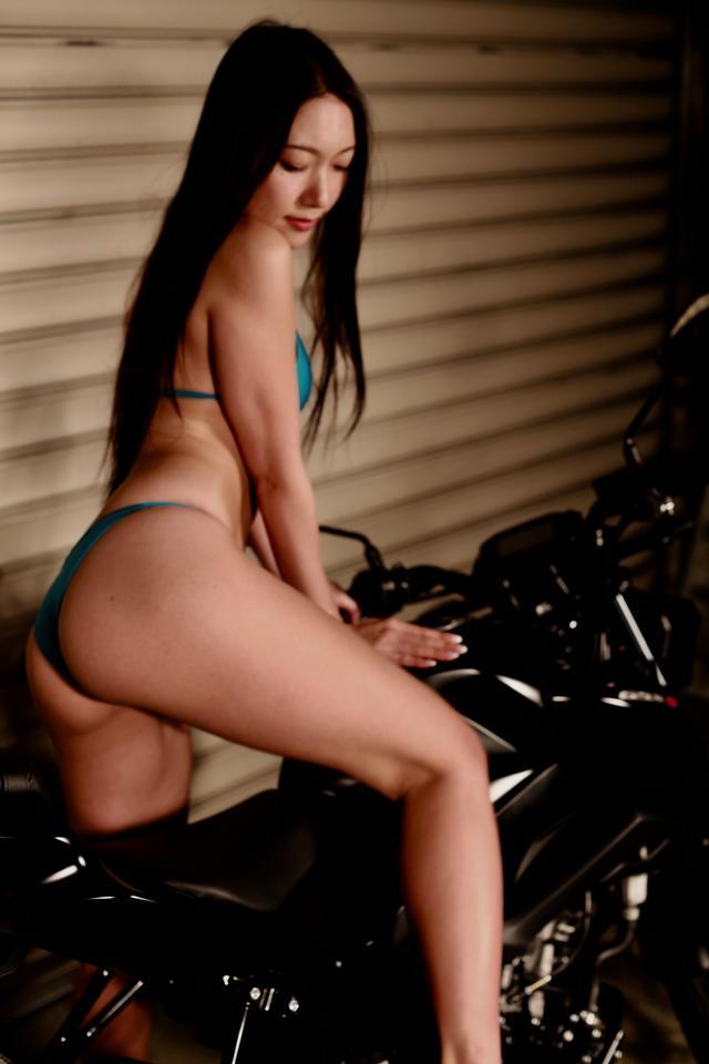 画像6: 【Beauty & Bike】羽衣とGSX-S125 vol.15