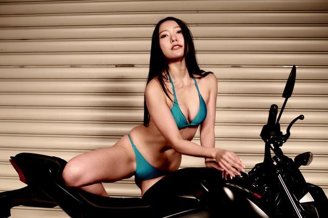 画像4: 【Beauty & Bike】羽衣とGSX-S125 vol.15