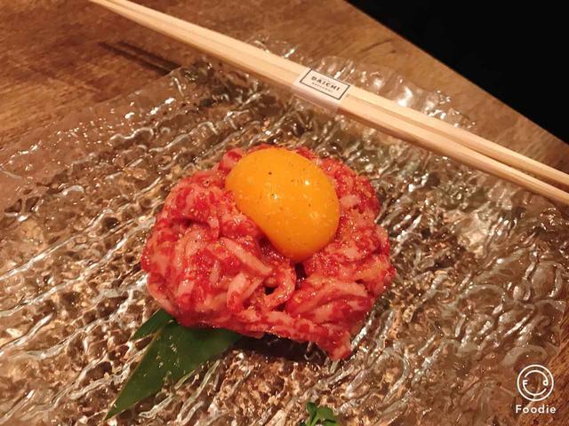 画像: 塩ユッケ ¥1,800(税抜価格)