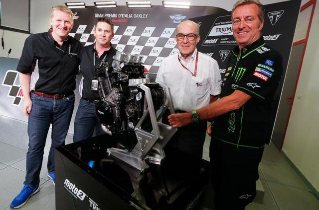 画像: 今年からトライアンフのワンメイクとなるMoto2クラス www.motogp.com