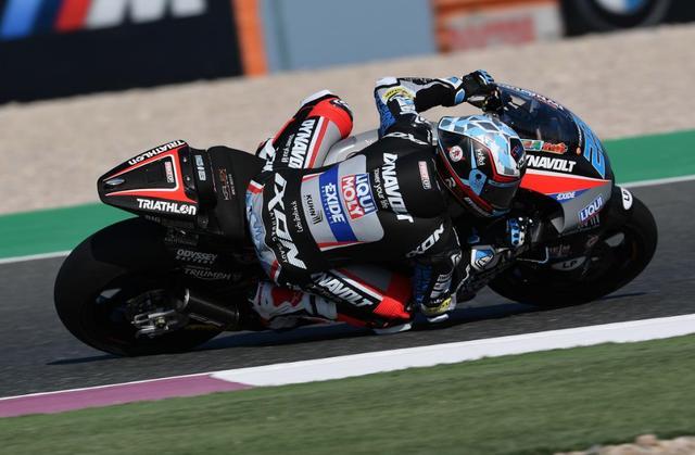 画像: 初のポールポジションを獲得したM.シュロッター www.motogp.com