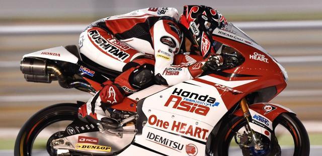 画像: 冷静な走りで見事な初優勝をマークした鳥羽海渡 www.motogp.com