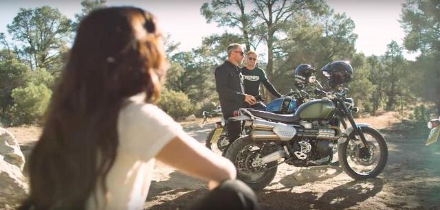 画像: 良さげだよね〜! トライアンフのScrambler 1200 XC/XE !! - LAWRENCE - Motorcycle x Cars + α = Your Life.