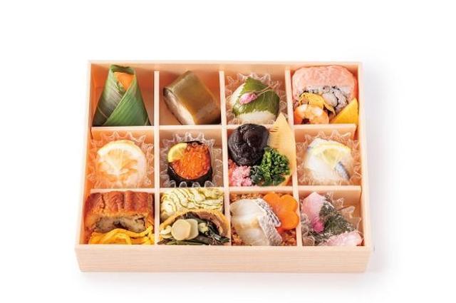 画像: ゐざさ茶屋の「春のおとずれ 彩り寿司」(1890円) www.walkerplus.com