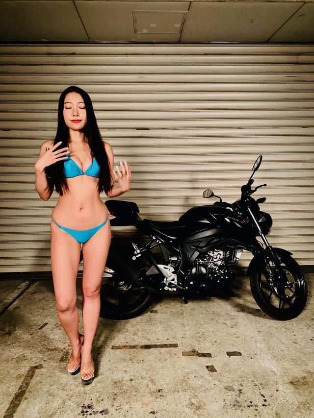 画像3: 【Beauty & Bike】羽衣とGSX-S125 vol.19
