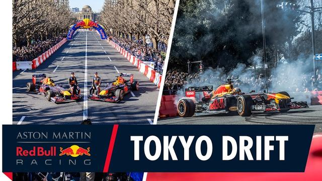 画像: Throwing it down in Tokyo! | Max Verstappen and Pierre Gasly bring F1 to the streets of Japan youtu.be